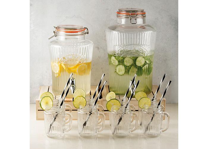 Kilner Vintage Drinks Dispenser, Clear, 19 x 25 x 30 cm 5 Litre - 2