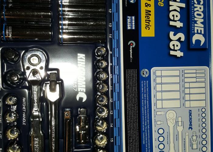 Kincrome socket set 38 piece  - 1