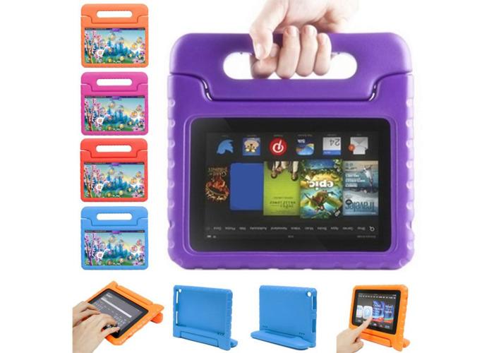 Kinder Tasche Schutz Hülle EVA Handle Case Cover für Kindle Amazon Fire HD 8 - 1