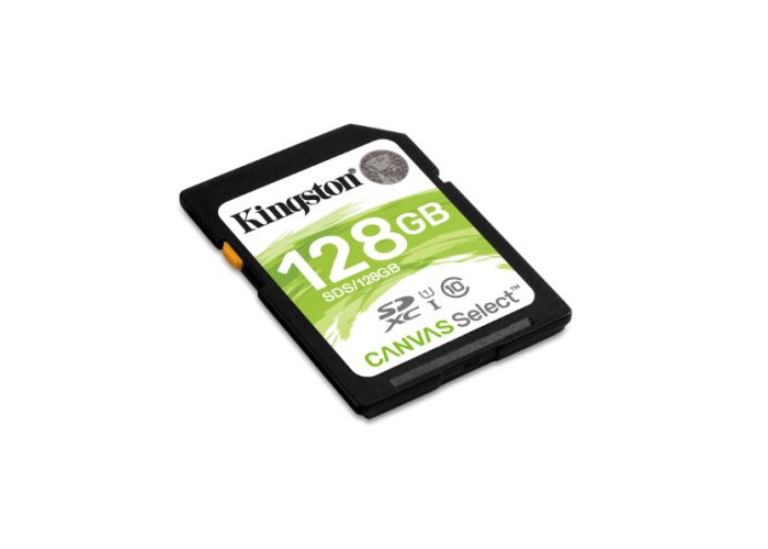 Kingston 128GB Canvas Select SDXC Card, Class 10 - 1