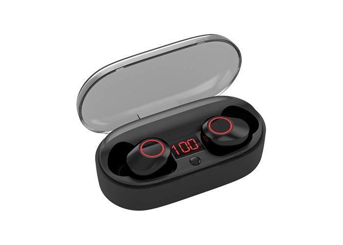 Kinym Mini Bluetooth headphones true wireless earbud Noise Cancelling in ear Mic - 2