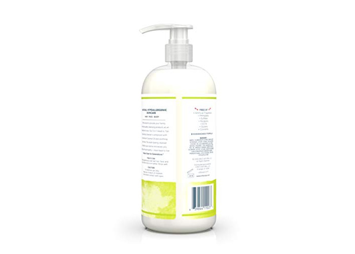 Kirk's Natural - 3 in 1 Head to Toe Nourishing Cleanser Juniper & Lime - 32 fl. oz. - 2