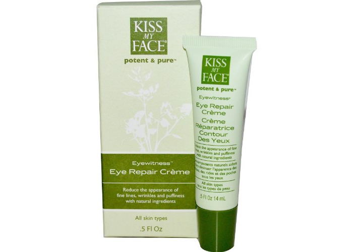 Kiss My Face Potent & Pure Complete Facial Care System Eyewitness Eye Repair Creme 0.5 fl. oz. Moisturizers 219146 - 1