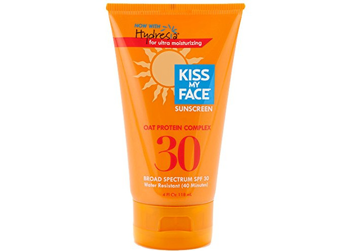 Kiss My Face Spf#30 Sunscreen With Oat Protein Complex 4 Ounce (118ml) - 1