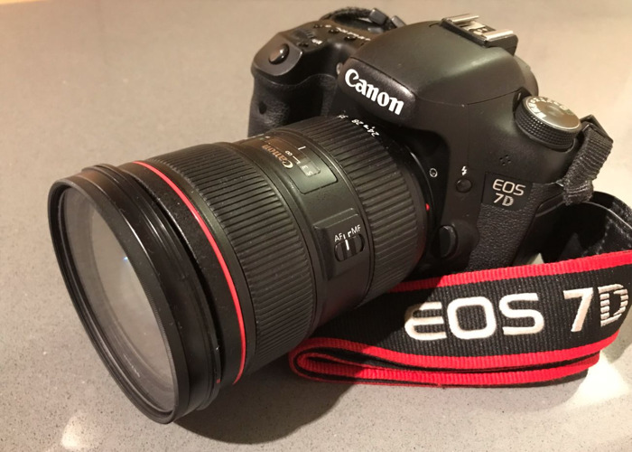 Kit: EOS Canon 7D + 24-70mm f/2.8L II IS USM - 1