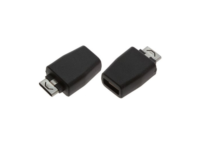 Kit Universal Micro USB Female Adapter with 7x Tips - Black - 2