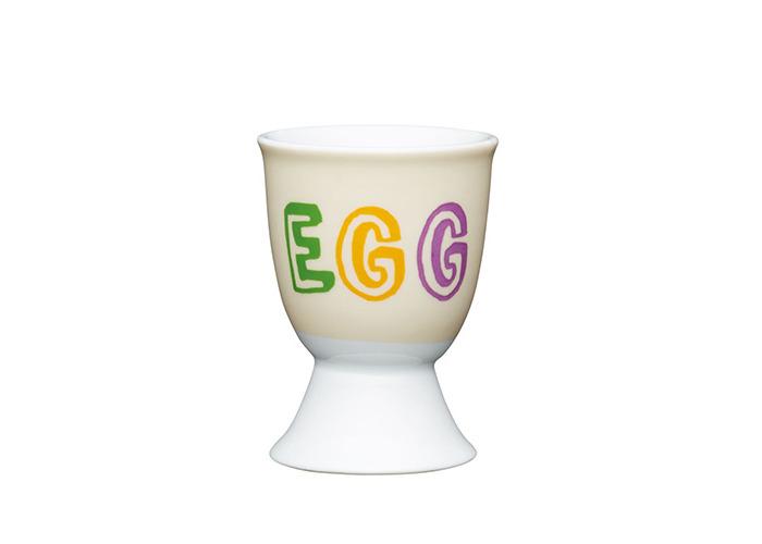 Kitchen Craft - Porcelain Childrens Egg Cup - Dippy Egg - 1