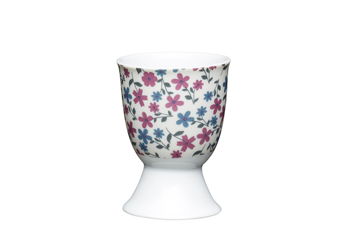 Kitchen Craft - Porcelain Egg Cup - Floral Daisy - 1
