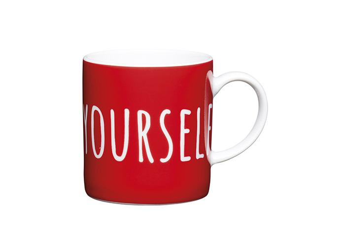 Kitchen Craft - Porcelain Espresso Mug - Espresso Yourself - 80ml - 1