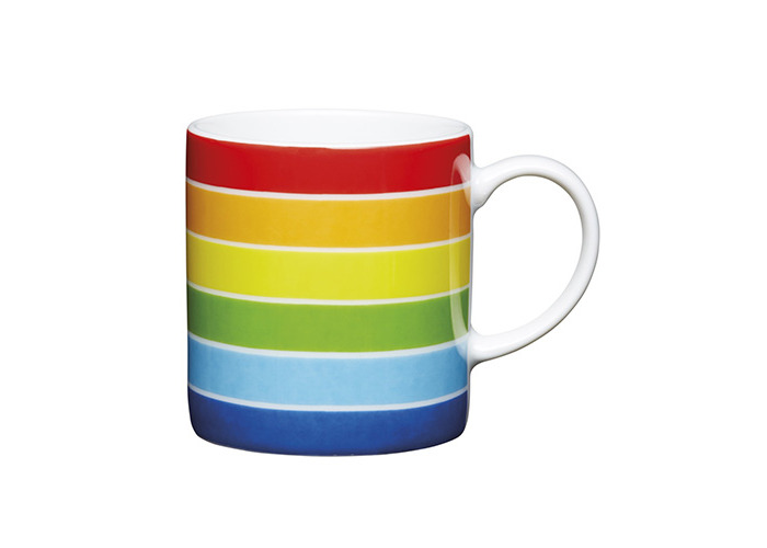 Kitchen Craft - Porcelain Espresso Mug - Rainbow - 80ml - 1