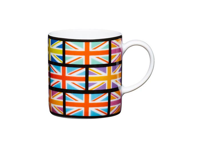 Kitchen Craft - Porcelain Espresso Mug - Union Flag - 80ml - 1