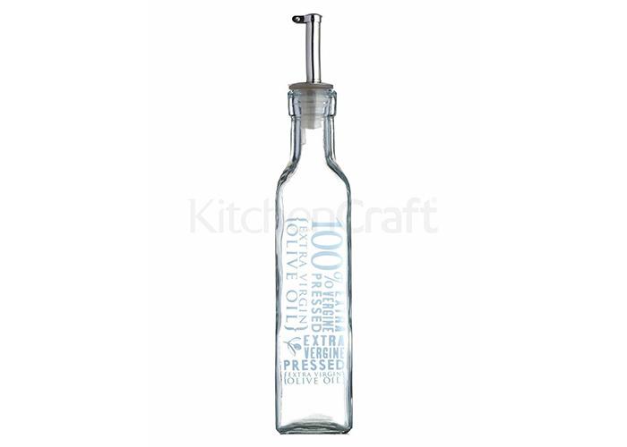 Kitchen Craft 250 ml World of Flavours Italian Glass Oil/ Vinegar Bottle - 1
