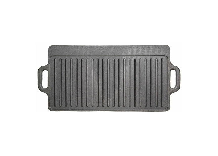 Kitchen Craft 47cm x 27cm Clearview Deluxe Cast Iron Griddle - 1