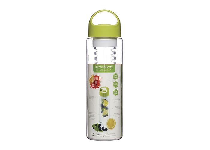 Kitchen Craft BPA-Free Fruit Infuser Water Bottle, 500 ml (17.5 fl oz) - 1