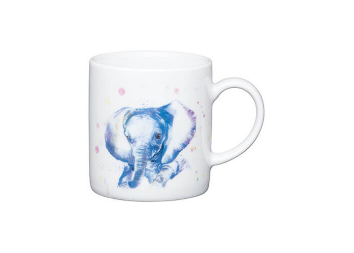 Kitchen Craft Elephant Porcelain Espresso Mug - 1