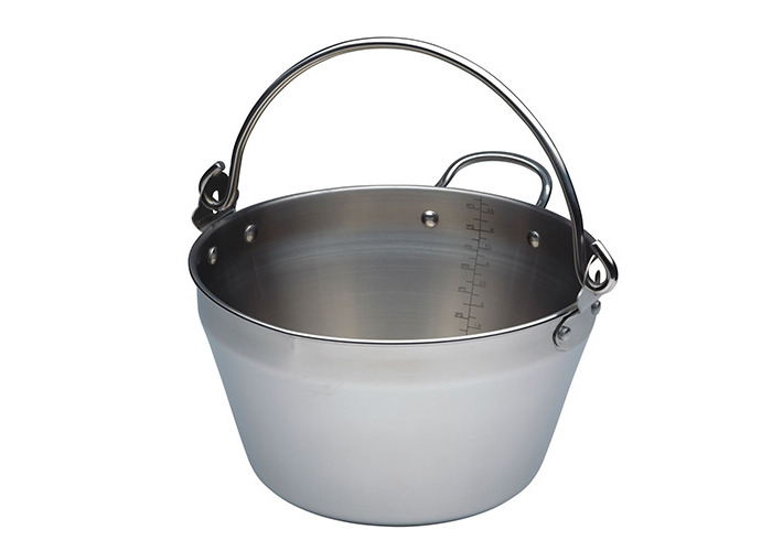 Kitchen Craft Home Made Stainless Steel Mini Maslin Pan 5 Litres - 1