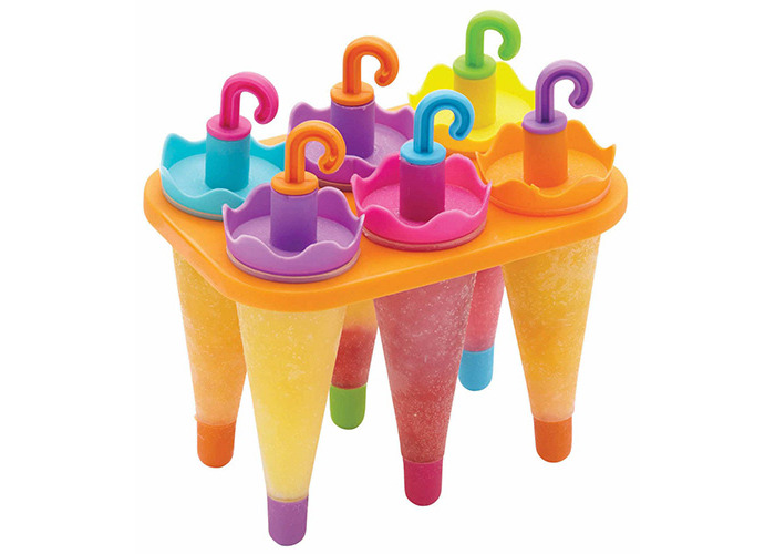 Kitchen Craft, Ice Lolly Moulds, Set of 6 - 1