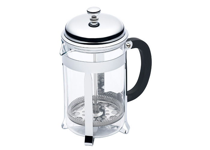 Kitchen Craft Le Xpress 6 Cup Chrome Plated Cafetiere - 1