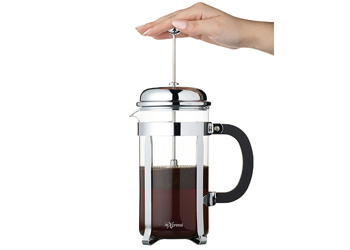 Kitchen Craft Le Xpress 6 Cup Chrome Plated Cafetiere - 2