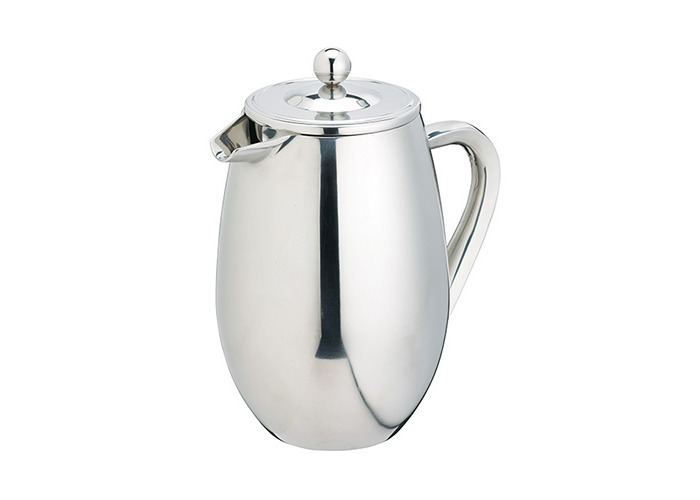Kitchen Craft Le'Xpress Cafetiere, Double Walled Stainless Steel, 3 Cup, 350ml - 1