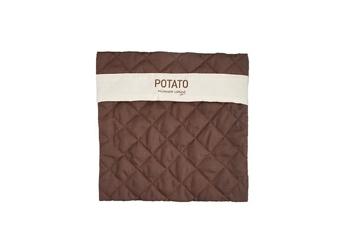 Kitchen Craft Microwave Potato Bag, Brown - 1