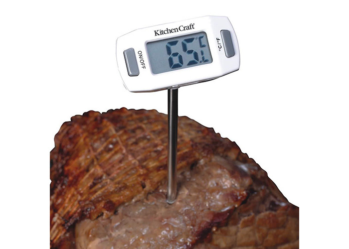 Kitchen Craft Stainless Steel Meat Thermometer with Protective Sheath - 2