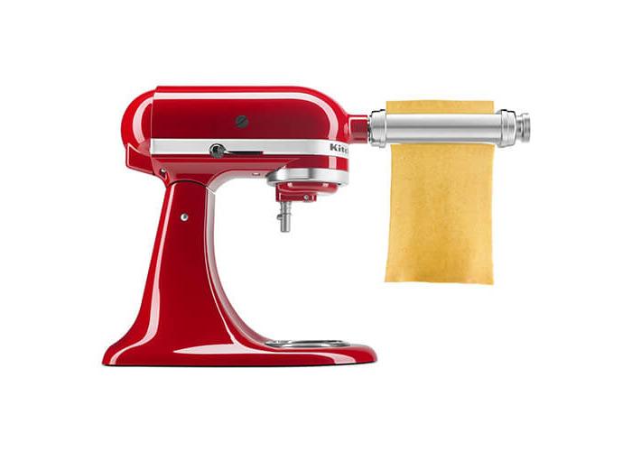 KitchenAid 5KSMPSA Pasta Roller, Silver - 2