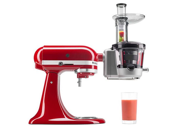 Kitchenaid Maximum Extraction Slow Juicer and Sauce Attachment - 2