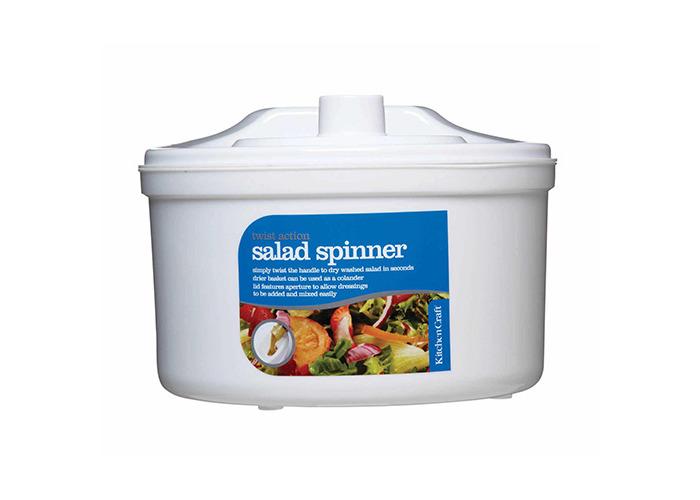 KitchenCraft 22.5cm Salad Spinner - 1