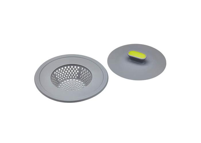 KitchenCraft 2-in-1 Plug and Sink Strainer - 1