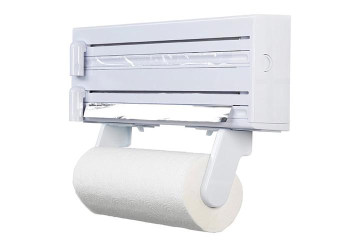 KitchenCraft Cling Film Foil and Kitchen Towel Dispenser - 1