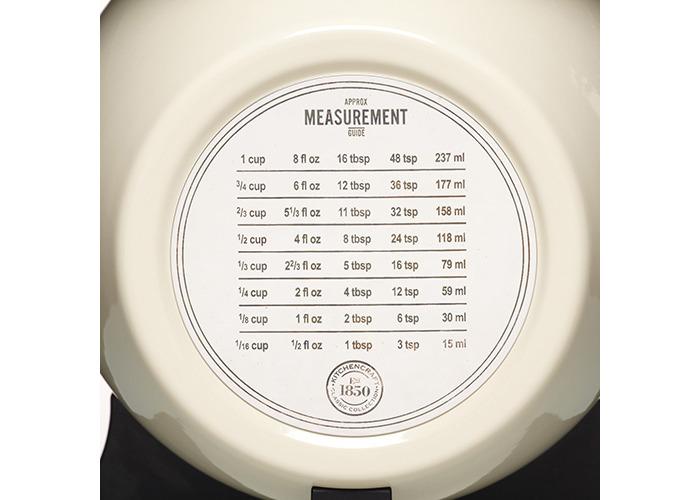 KitchenCraft Cream Enamelled Mechanical Kitchen Scale - 2