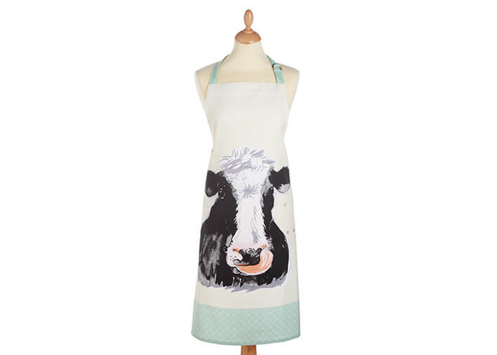 KitchenCraft 100/% Cotton Yellow Sheep Apron 90 x 70 cm
