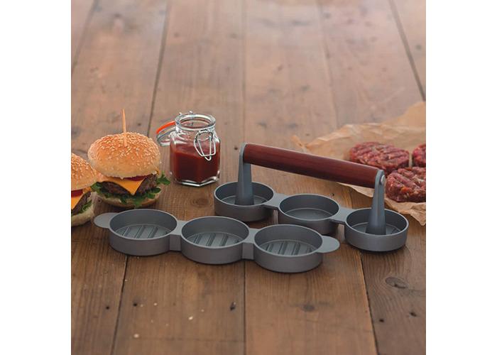 KitchenCraft Home Made Mini Burger/Sliders Press, 5cm Diameter - 2