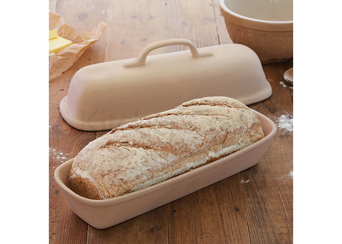 KitchenCraft Home Made Rectangular Bread Baking Cloche - 2