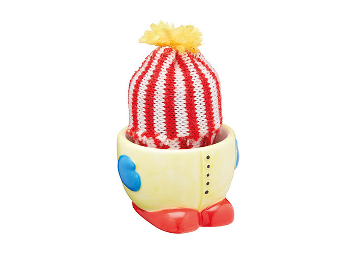 KitchenCraft Keep Me Warm Egg Cup and Egg Cosy - 1