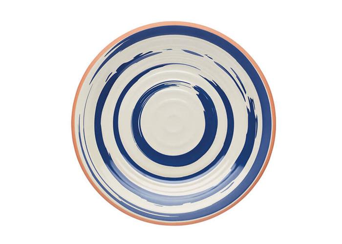 KitchenCraft Lulworth Melamine 21cm Snack Plate - 1
