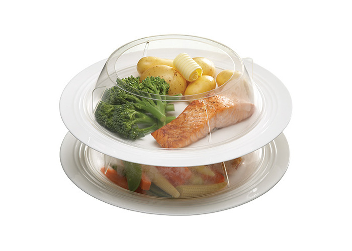 KitchenCraft Microwave Stacking Plate Rings - 2