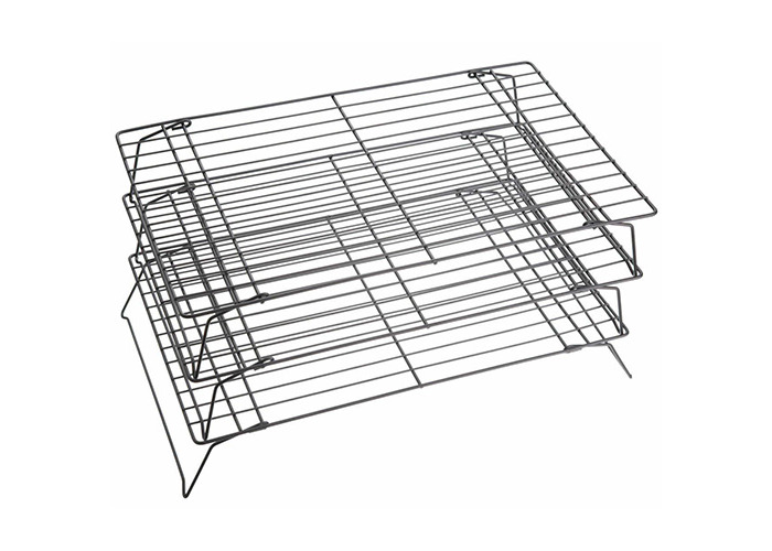 KitchenCraft Non-Stick Cooling Rack 3 Tier 40 x 25 x 22cm - 1