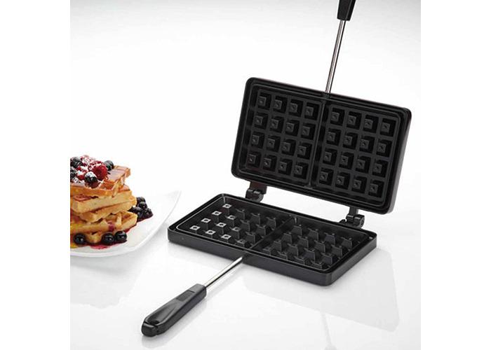 KitchenCraft Non-Stick Waffle Maker - 2