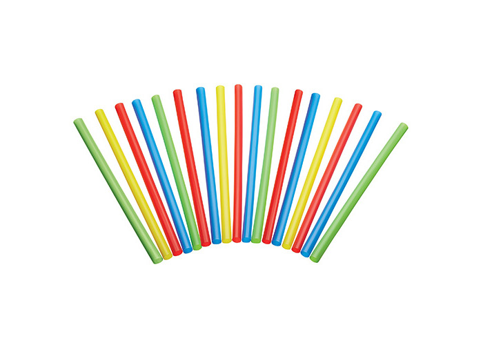 KitchenCraft Pack of 50 Plastic Smoothie / Milkshake Straws - 1