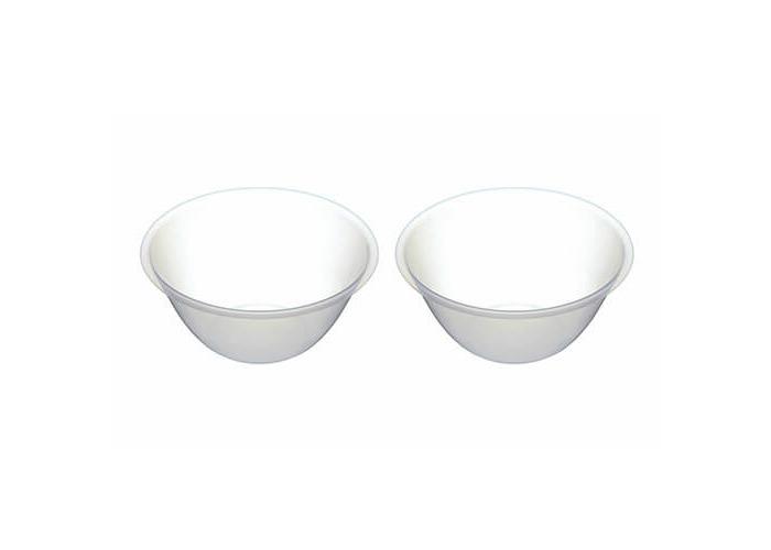 KitchenCraft Plastic Mixing Bowls, 2 Litres (Set of 2) - 1