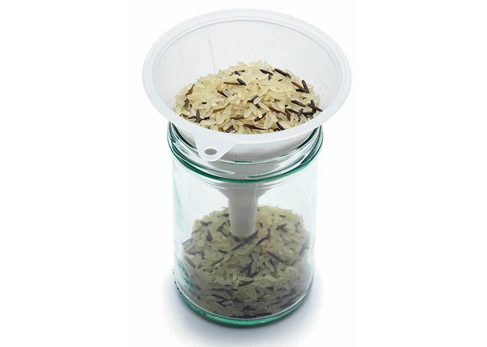 KitchenCraft Polypropylene Food Safe Funnels, Set of Three - 1