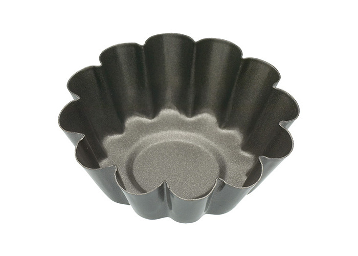 KitchenCraft Set of Four Non-Stick Mini Fluted Tart Tins - 1