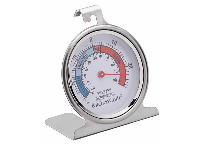 KitchenCraft Stainless Steel Fridge Thermometer 7.5cm - 1