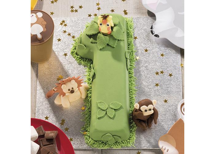 KitchenCraft Sweetly Does It Novelty Number '1' Cake Tin (One), 30 x 13 x 5 cm - 2