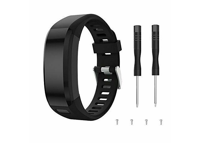 kitway Compatible Garmin Vivosmart HR Strap Band- Accessories Adjustable Soft Si - 1
