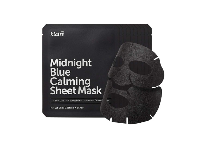 KLAIRS Midnight Blue Calming Sheet Mask 10 Sheets, K-Beauty - 2