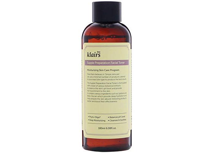 Klairs Supple Preparation Facial Toner 180ml, Alcohol Free, Paraben Free, No Cruelty, Eco-friendly - 1