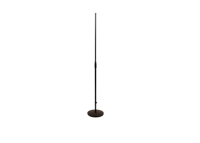 K&M Konig & Meyer straight microphone stand weighted base - 1